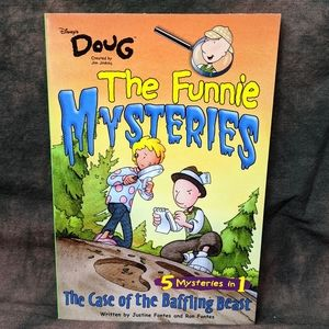 Rare Vintage Doug Funnie Mysteries Chapter Book